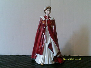 Home & New Items. WORCESTERQUEENELIZABETH80thBIRTHDAYCOMMEMORATIVEFIGURE
